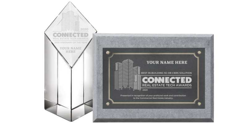 Connected Awards - Plaque